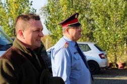 Varga Béla tűzoltó ezredes és Miski Ákos tűzoltó százados nyitották meg a rendezvényt